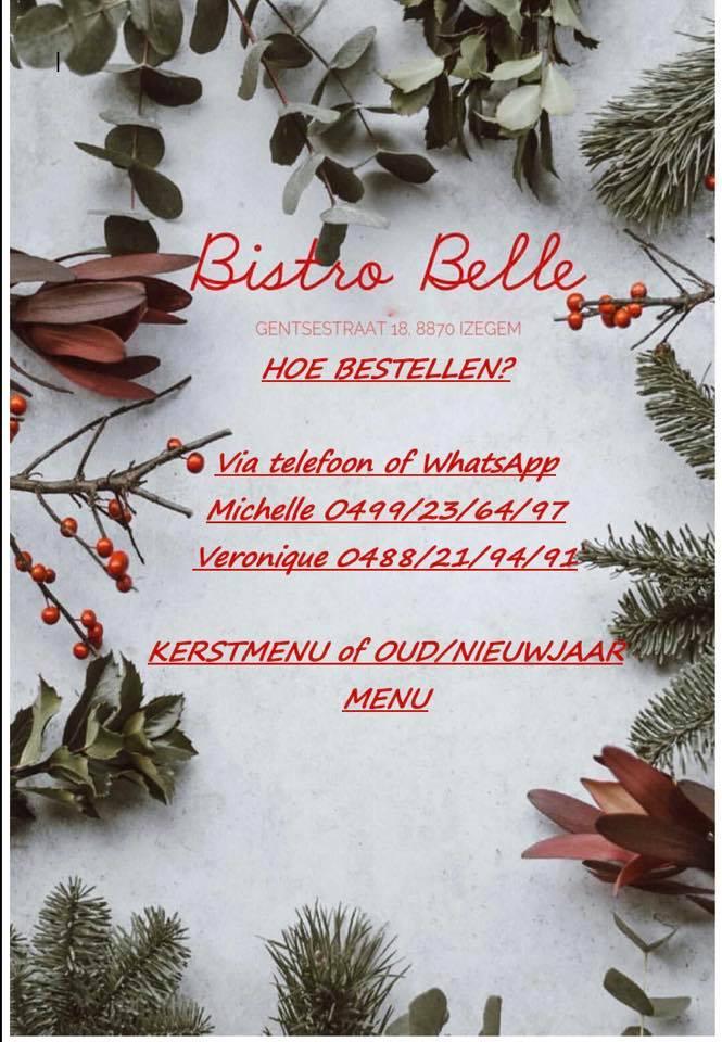 feestdagen menu